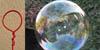 Fil électrique pour faire des bulles