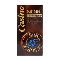 Chocolat noir 85 % Casino