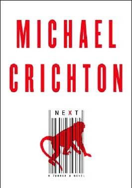 Couverture du roman Next de Crichton