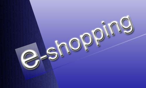 Le e-shopping est en forte progression chaque année